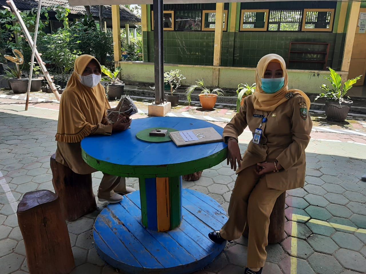Kunjungan Sekdin ke SMP N 3 Jiken